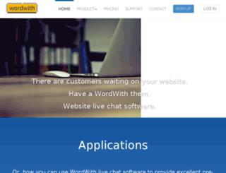 wordwith.com screenshot