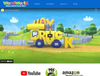 wordworld.com screenshot