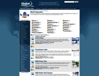 work-education.global-weblinks.com screenshot