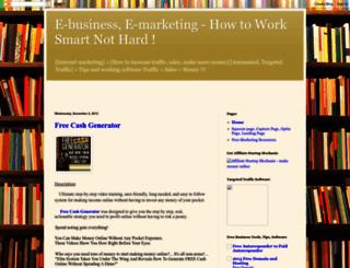 work-smartnothard.blogspot.com screenshot