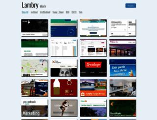 work.lambry.com screenshot