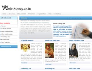 work4money.co.in screenshot