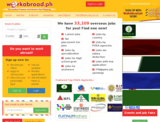 workabroad.com.ph screenshot