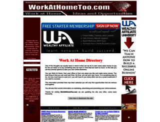 workathometoo.com screenshot