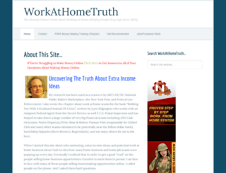 workathometruth.com screenshot