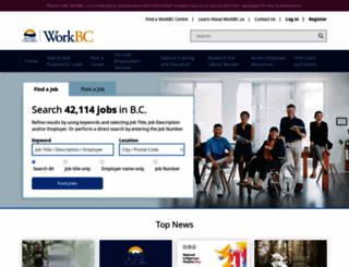 workbc.ca screenshot