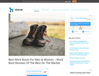 workbootcritic.com screenshot