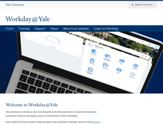 workday.yale.edu screenshot