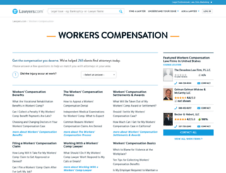 workers-compensation.lawyers.com screenshot