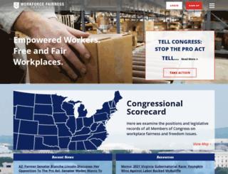 workforcefairness.com screenshot