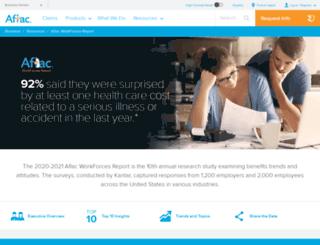 workforces.aflac.com screenshot