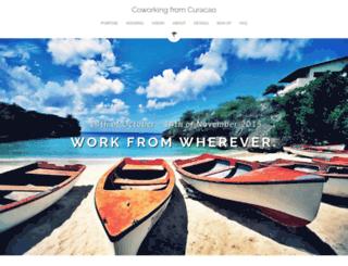 workfromcuracao.com screenshot