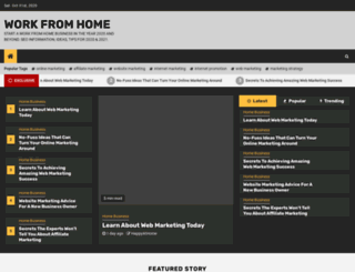 workfromhome.bz screenshot