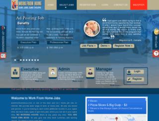 workfromhomeinus.com screenshot