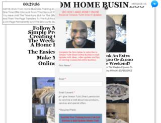 workfromhomeonline.me.uk screenshot