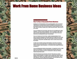 workfromhomeonlinebusinessideas.blogspot.com screenshot