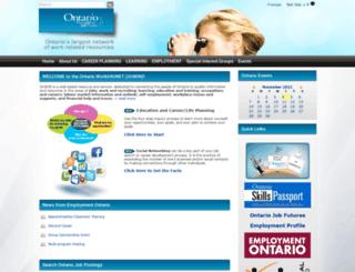 workinfonet.ca screenshot
