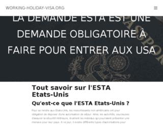 working-holiday-visa.org screenshot