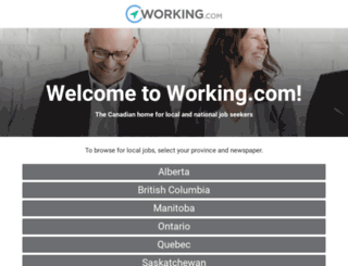 working.canada.com screenshot