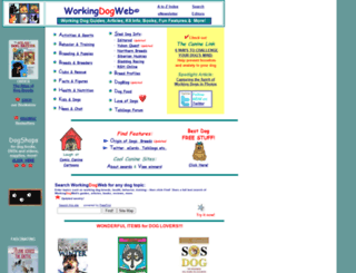 workingdogweb.com screenshot
