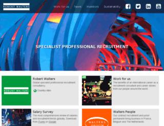workingfor.robertwalters.com screenshot