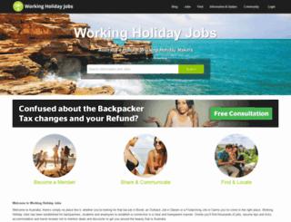 workingholidayjobs.com.au screenshot