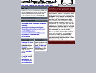 workingwith.me.uk screenshot