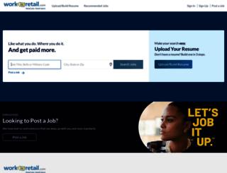 workinretail.com screenshot