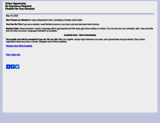worklisting.org screenshot