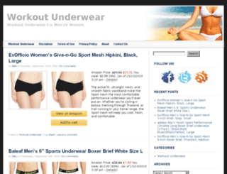 workoutunderwear.net screenshot