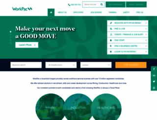 workpac.com screenshot