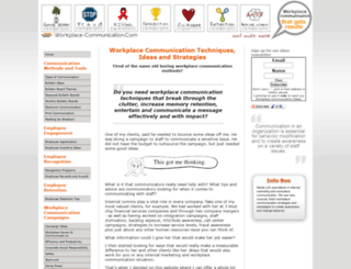 workplace-communication.com screenshot