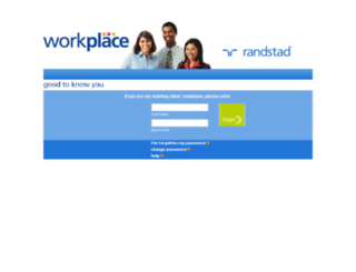 workplace.mafoirandstad.com screenshot
