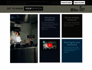 workplacepensions.gov.uk screenshot