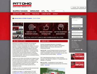 works.pittohio.com screenshot