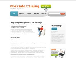 worksafeaustralia.com.au screenshot