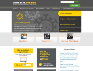 worksafens.ca screenshot