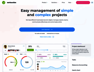 worksection.com screenshot