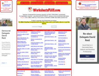 worksheetsplus.com screenshot