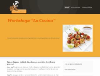 workshop.la-cocina.be screenshot