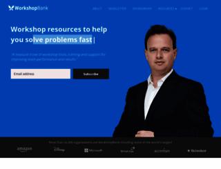 workshopbank.com screenshot