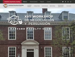 workshopdenegociacionypersuasion.com screenshot