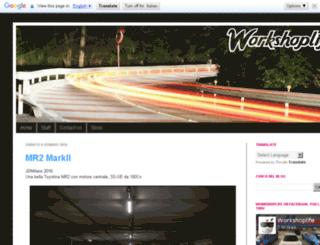 workshoplife.net screenshot