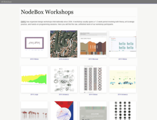 workshops.nodebox.net screenshot