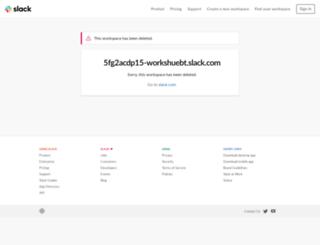workshuebt.slack.com screenshot