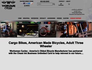 worksmancycles.com screenshot