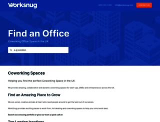 worksnug.com screenshot