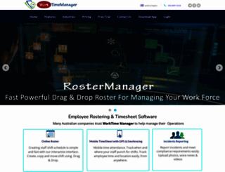 worktimemanager.com.au screenshot