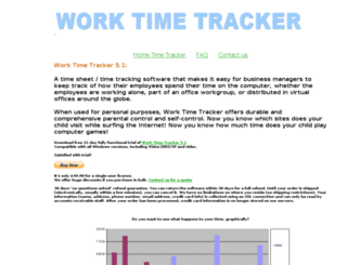 worktimetracker.com screenshot