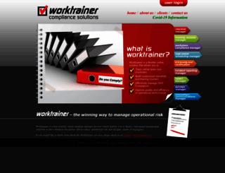 worktrainer.co.za screenshot